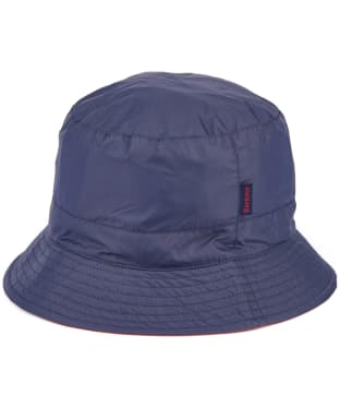 Barbour Esha Waterproof Sports Hat - Navy / Red