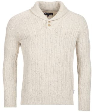 Men's Barbour Haskier Sweater - Neutral