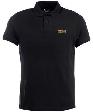 Men's Barbour International Essential Polo - Black