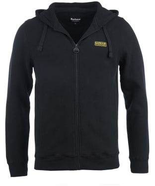 Men's Barbour International Essential Hoody - Black