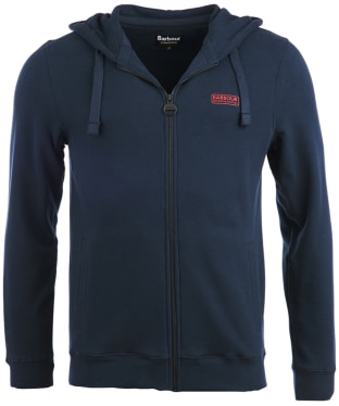 Men's Barbour International Essential Hoody - Navy