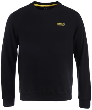 Men's Barbour International Essential Crew Neck Sweat - Black