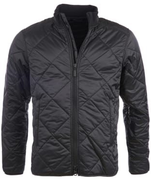 Men's Barbour International Quilted Gabion Jacket - Black
