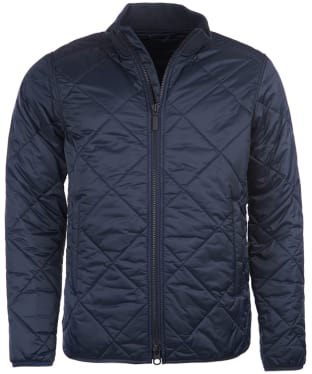 Men's Barbour International Quilted Gabion Jacket - Navy