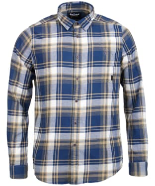Men's Barbour International Handle Shirt - Dress Blue Check