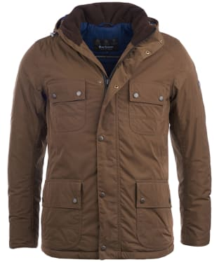 Men's Barbour International Roper Waterproof Jacket - Brown
