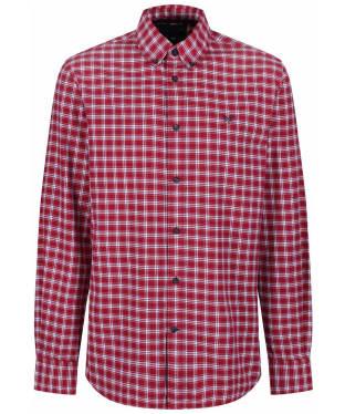 Men's Crew Clothing Bridford Shirt - Washed Cherry