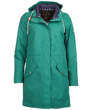 Women's Barbour Whitford Waterproof Jacket - Evergreen