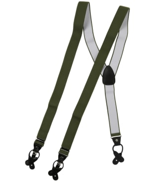 Men's Soprano Luxury Braces - Olive