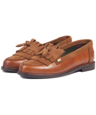 Women's Barbour Olivia Loafers - Tan