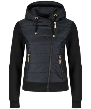 Women's Barbour International Trail Sweat Jacket - Black