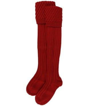 Pennine Chelsea Socks - Chianti