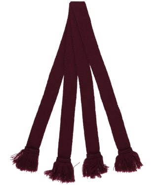 Pennine Wool Garter - Claret