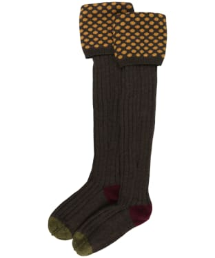 Pennine Viceroy Shooting Socks - Mocha