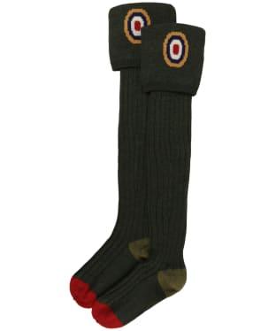 Pennine Spitfire Shooting Socks - Hunter