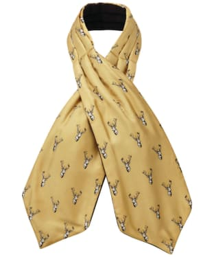 Men's Schöffel Silk Shooting Cravat - Ochre