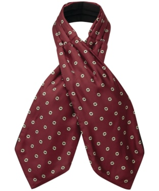 Men's Schöffel Silk Shooting Cravat - Red