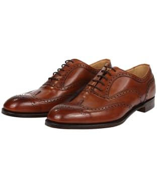 Men's Cheaney Arthur III Brogue - Dark Leaf