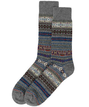 Men's Barbour Boyd Socks - Grey Mix