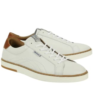 Men's Barbour Howdon Cupsole Trainers - White