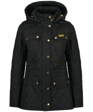 Women's Barbour International Absorber Parka - Black