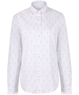 Women's GANT Dot Foulard Shirt - White
