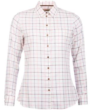 Women's Barbour Triplebar Shirt - Aster Pink Check