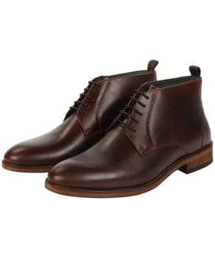 Men's Barbour Benwell Chukka Boot - Mahogany