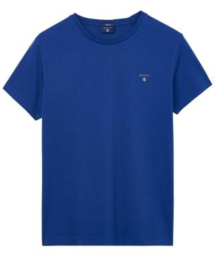 Men's GANT Solid T-Shirt - Yale Blue