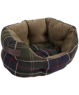"Barbour 18"" Luxury Dog Bed - Classic Tartan"