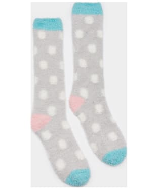 Women's Joules Fabulously Short Fluffy Socks