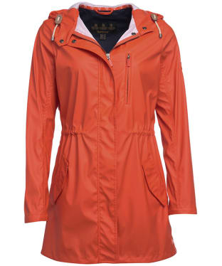 Women's Barbour Harbour Casual Jacket - Signal Orange