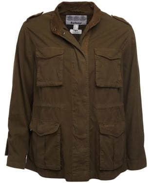 Women's Barbour Chorlton Jacket - Mid Olive