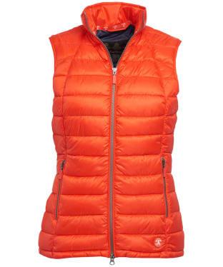 Women's Barbour Deerness Gilet - Signal Orange