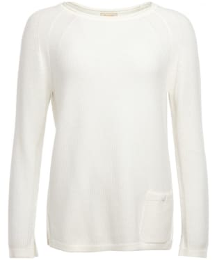 Women's Barbour Pembrey Knitted Sweater - Cloud