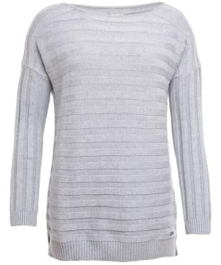 Women's Barbour Daisyhill Knit - Light Grey Marl