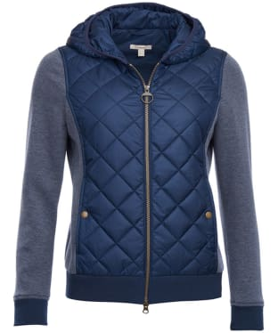 Women's Barbour Brimham Quilted Sweatshirt - Navy