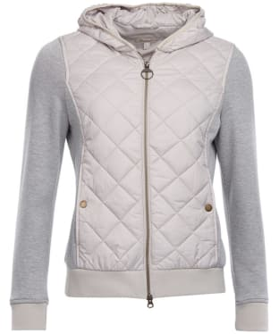 Women's Barbour Brimham Quilted Sweatshirt - Mist