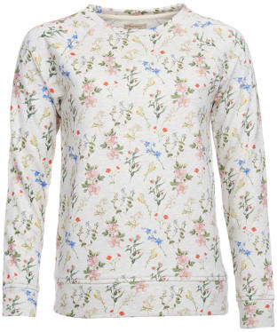 Women's Barbour Moorfoot Sweatshirt - Cloud Marl