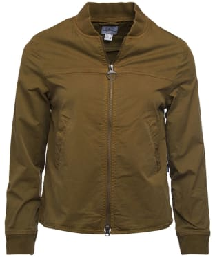 Women's Barbour Mabel Overshirt - Olive Branch