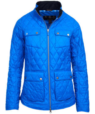 Women's Barbour Dolostone Quilted Jacket - Victoria Blue