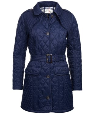 Women's Barbour Hailes Quilted Jacket - Navy