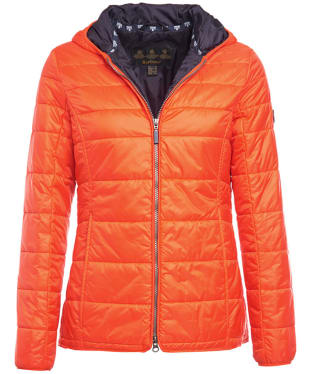 Women's Barbour Whitford Padded Jacket - Signal Orange