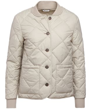 Women's Barbour Freckleton Quilted Jacket - Mist
