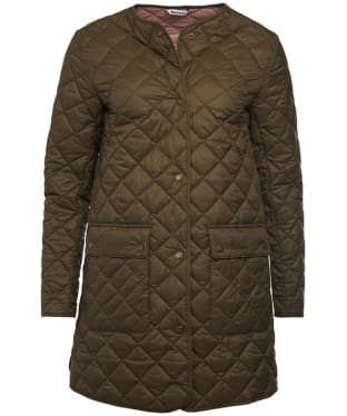 Women's Barbour Skirden Quilted Jacket - Olive
