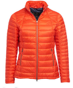 Women's Barbour Daisyhill Quilted Jacket - Signal Orange