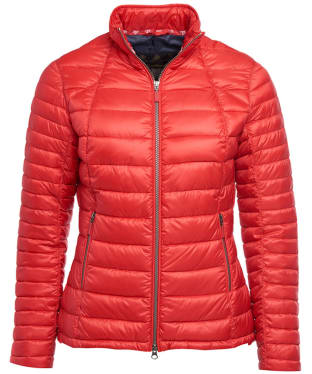 Women's Barbour Daisyhill Quilted Jacket - Red