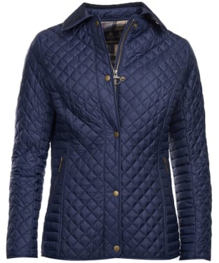 Women's Barbour Broom Quilted Jacket - Navy