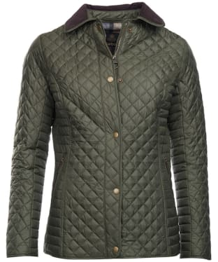 Women's Barbour Broom Quilted Jacket - Olive