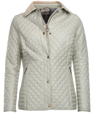 Women's Barbour Broom Quilted Jacket - Mist